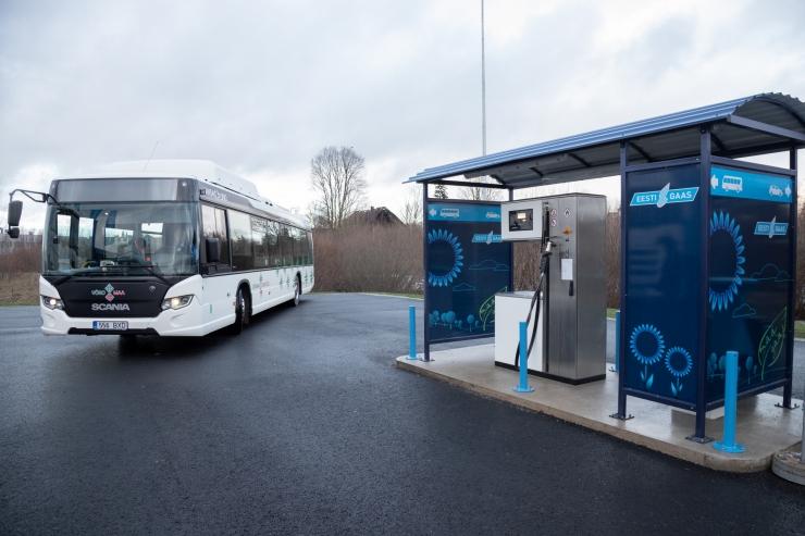 Eesti Gaas: ühistransport juhib Eestis surugaasi tarbimist