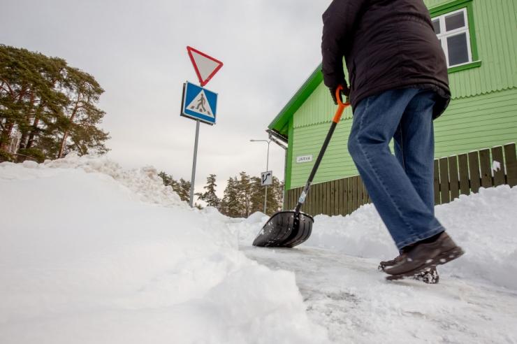 Lume- ja libedusetõrjega tuleb viivitamatult tegeleda!