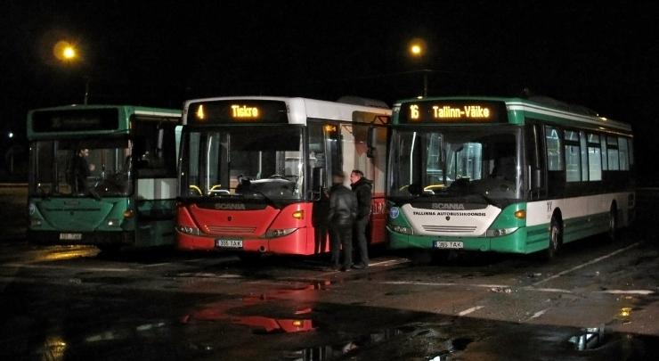 Esmaspäeval muutuvad bussiliinide sõiduplaanid