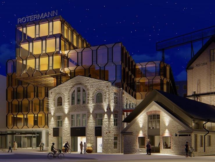 Nordecon ehitab Rotermanni kvartalisse ärihoone R6