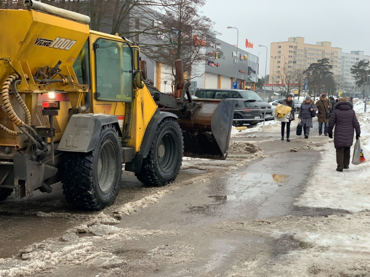 Mustamäe mobiliseerib lumekoristusel jõudusid