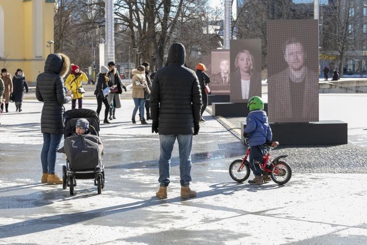 FOTOD! Vabaduse väljaku mälupildid räägivad märtsipommitamise lugu