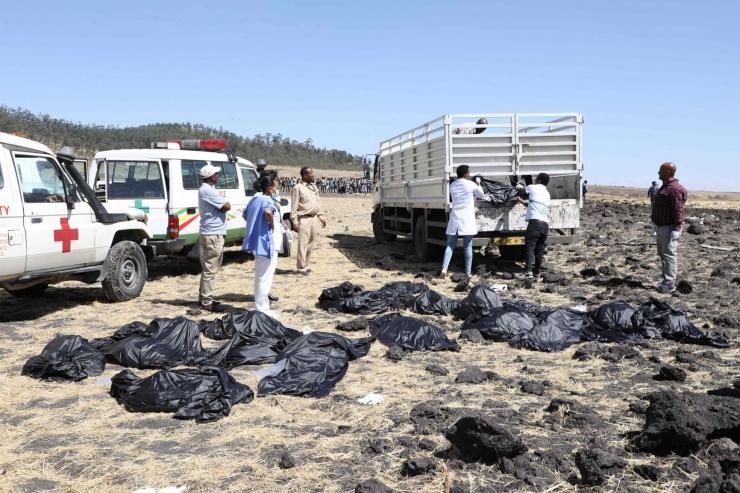 Etioopias kukkus alla reisilennuk 157 inimesega