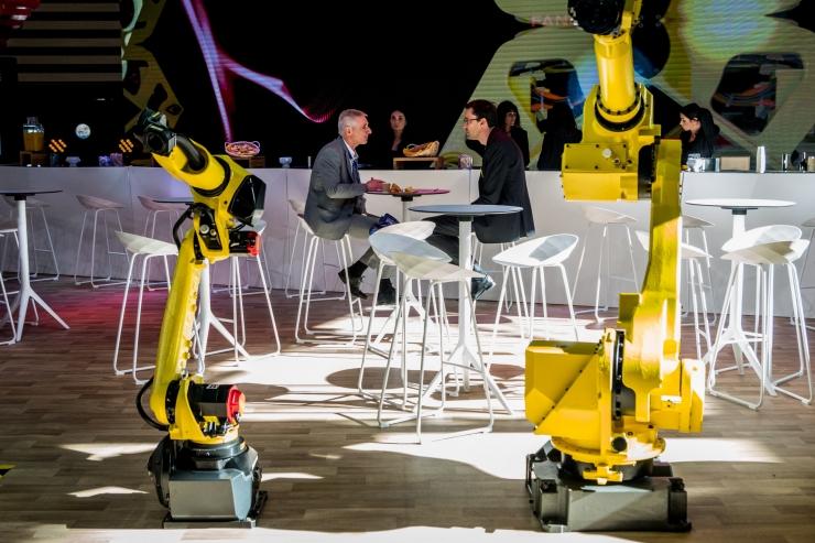 VIDEO! Raul Eamets: robotid ei võta inimestelt kohustust tööd teha