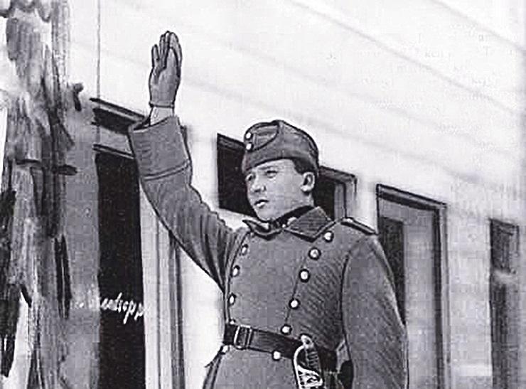 Tsaarivõimu kukkudes valis volikogu Konstantin Pätsi linna miilitsaülemaks