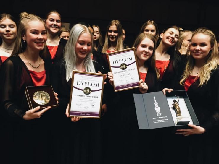 Eesti võidutses noortekooride kategoorias