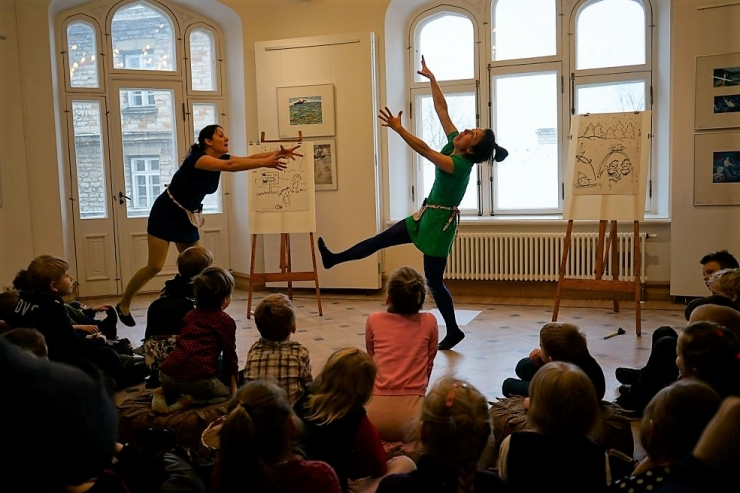 Miiamilla lastemuuseumis mängitakse teatrit
