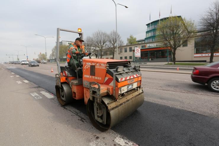Homsest jätkuvad Viljandi maantee kergliiklustee ehitustööd
