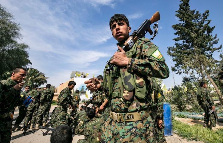 Süüria kurdid: IS-i vastases võitluses algab uus etapp