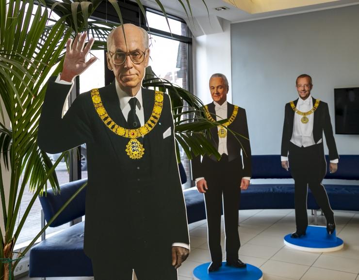 FOTOD: Tallinna teenindussaalis saab tutvuda Eesti riigipeadega