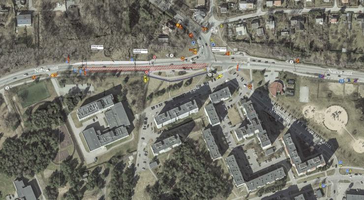 Tallinna Läänemere Gümnaasiumi juurde rajatakse  parkimiskohad