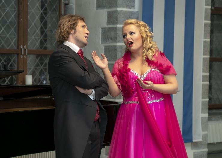 GALERII: Tallinna Raekojas andsid kontserdi Maria Veretenina ja Jeugeny Juzhin
