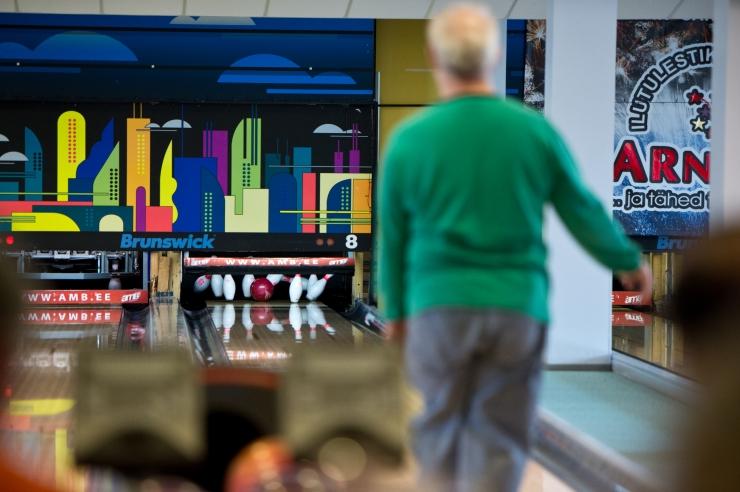 Tallinna eakad võistlevad bowlinguturniiril