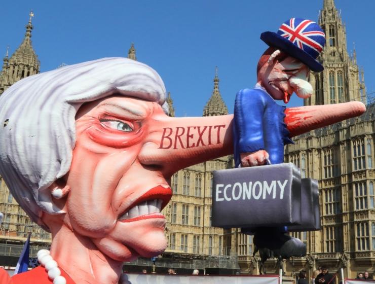 Briti parlament hääletas maha kõik hääletusele pandud Brexiti-plaanid