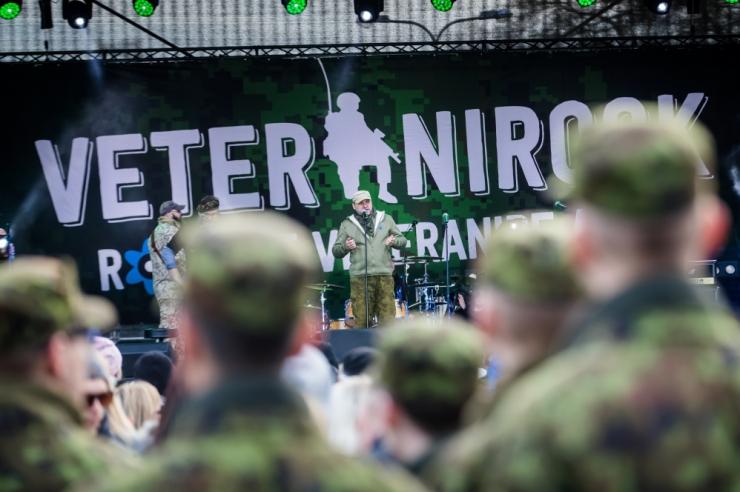 Jüripäev tuleb taas vabaõhukontserdiga Veteranirock