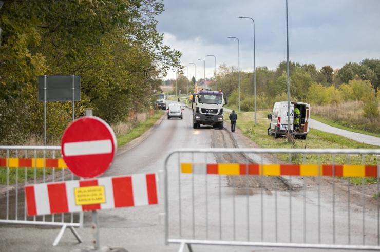 Mustamäe tee 112 – 138 kvartalisisestel teedel jätkatakse remonti