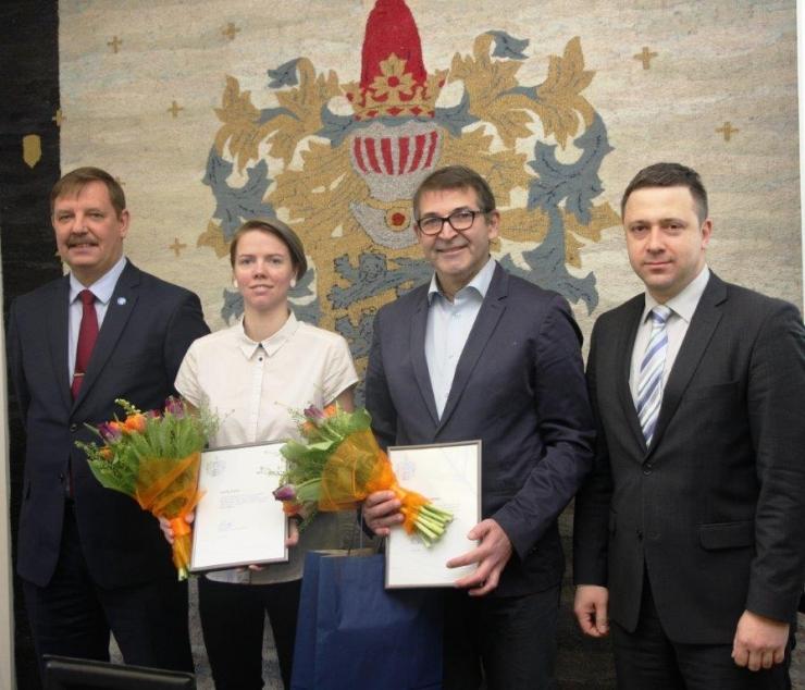Tallinn tänas edukalt võistelnud sportlast