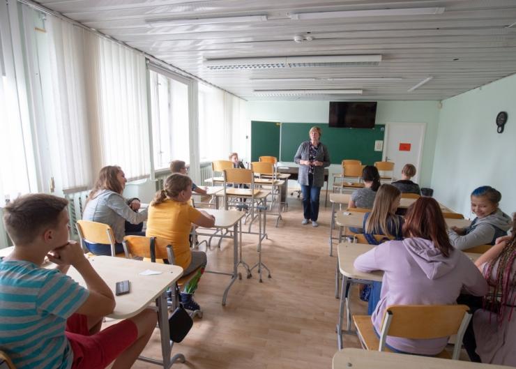 Järveotsa Gümnaasium võõrustab külalisi Taani, Rootsi ja Soome koolidest