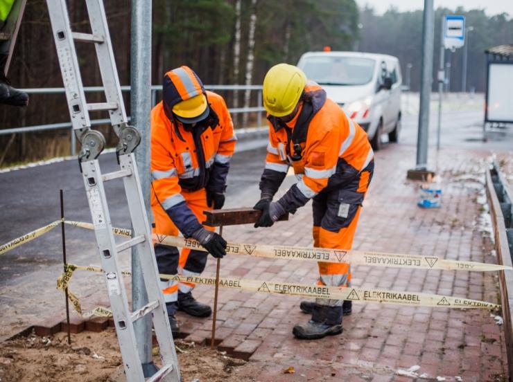 Tallinnas algas taas Türi tänava rekonstrueerimine
