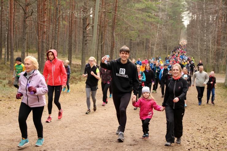 Pühapäeval vallutavad jooksusõbrad Harku raba teed