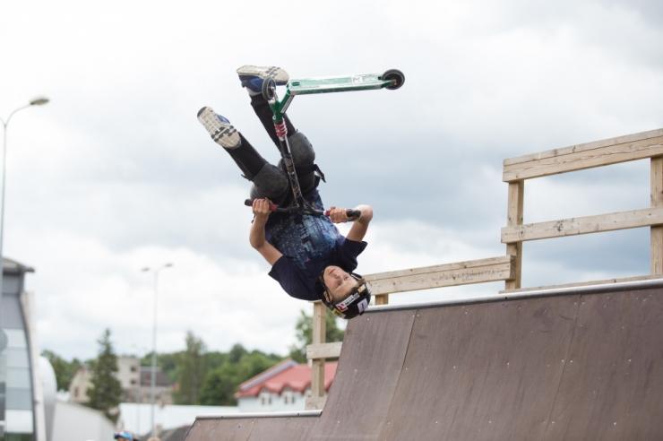 FOTO: Uus Kopli skate-park valmib koostöös ekstreemsportlastega