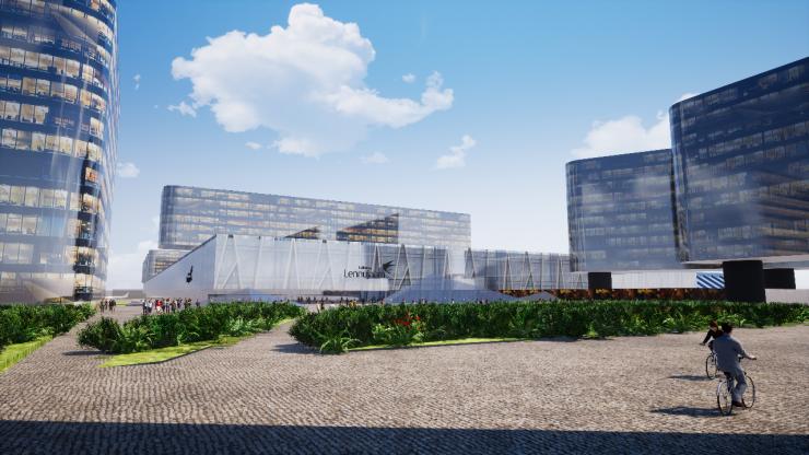 VAATA ISE: Tallinna Lennujaam plaanib 2035. aastaks suurt terminali laiendust