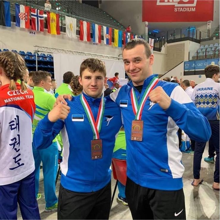 Mupo inspektorid tõid Euroopa Taekwon-do meistrivõistlustelt koju kaks pronksmedalit
