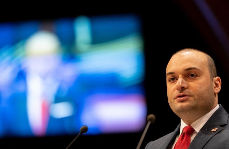 Gruusia peaminister: riigi suurim mure on okupeeritud alad