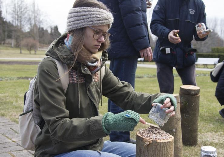 FOTOD! Botaanikaaia seenepäevad meelitavad kohale huvilisi