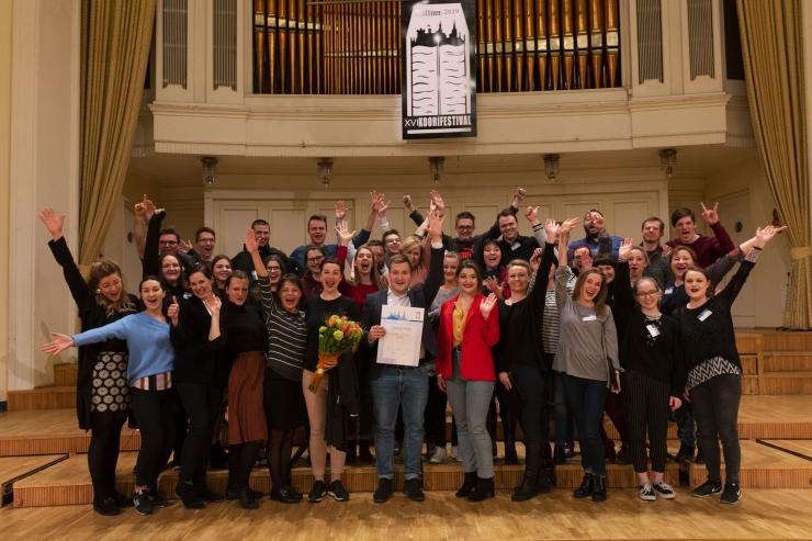 Rahvusvahelise koorifestivali Grand Prix läks segakoorile Vēja Balss Lätist
