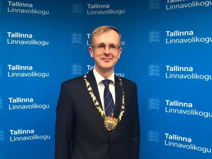 Tallinna Linnavolikogu sai uue esimehe