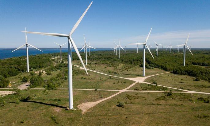 Tarbijakaitse ja Tehnilise Järelevalve Amet peatas ehitustegevuse Aidu tuulepargis
