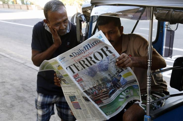 Sri Lanka plahvatustes hukkus vähemalt 290 inimest