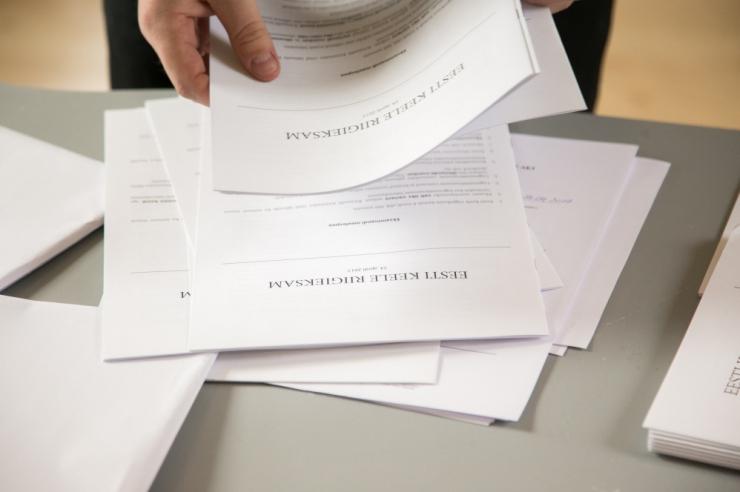 Riigieksamite perioodi avab eesti keele riigieksam