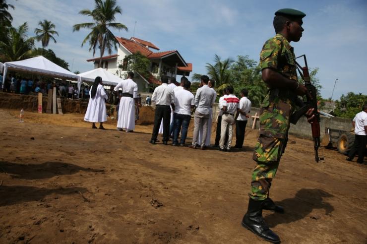 Sri Lanka terrorirünnakutes hukkunute arv tõusis 310-ni