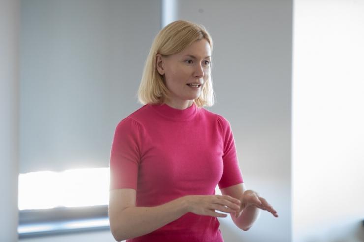 SDE naiskogu toetab sotside uue juhina Riina Sikkutit ja Katri Raiki