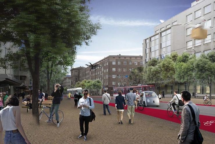 ÜKS KÜSIMUS: Miks peaks tulevasel Tallinna peatänaval eelistama autodele jalakäijaid ja jalgrattureid?