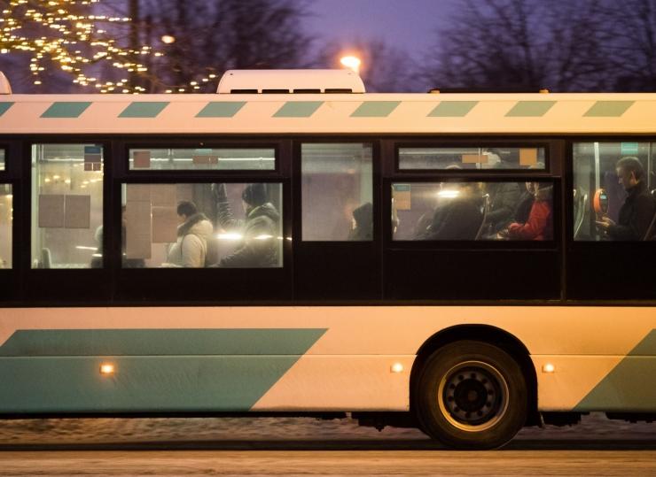 Kuus bussiliini hakkavad tihedama graafikuga sõitma