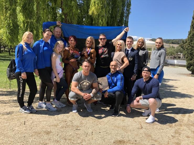 Karina Polovnikova sai fitnessi EM-il kaks esikohta