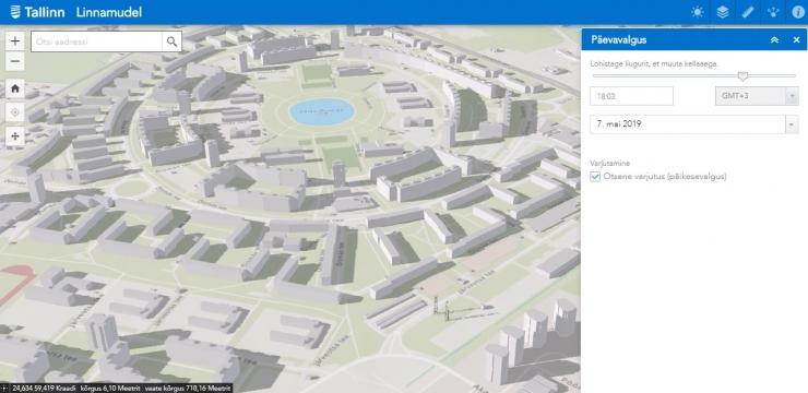 Tallinna linnamudel astus esimese sammu kolmandasse mõõtmesse