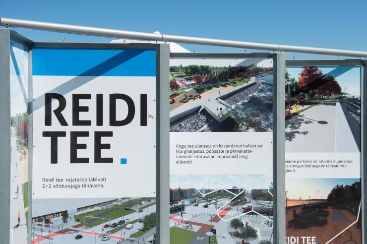 Reidi tee ehitus hakkab segama laulupeo rongkäigu pealtvaatajaid