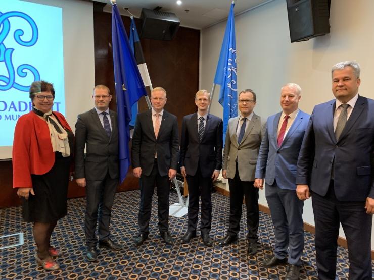 Eesti linnade ja valdade liitu juhib nüüd Tallinna Linnavolikogu esimees