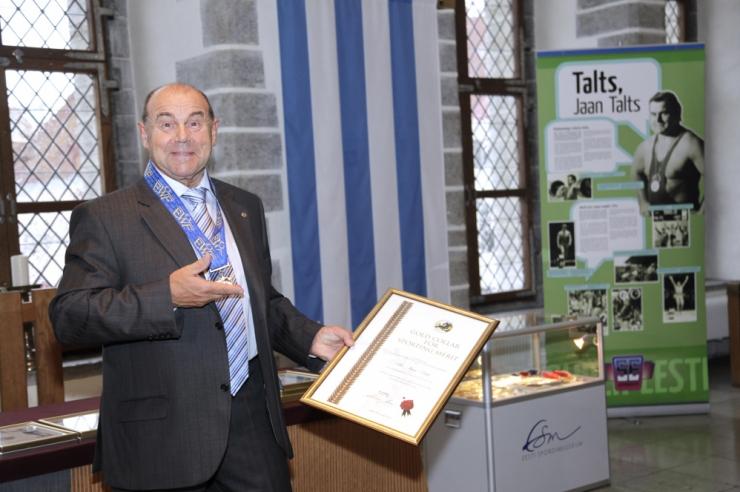 GALERII! Tallinlasest olümpiasangar Jaan Talts tähistas juubelit