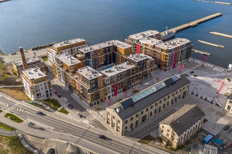 Noblessneri sadamalinnaku järgmises uusarendusetapis valmib kokku ligi 23 700 m2 korteri- ja äripindu