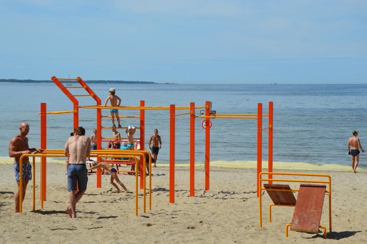 Homme avatakse Pirita rand