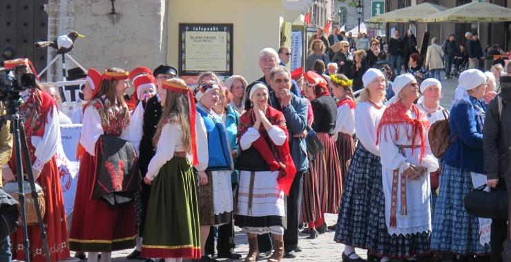 VIDEO JA FOTOD: Tallinnas algas Baltimaade suurim pärimuspidu