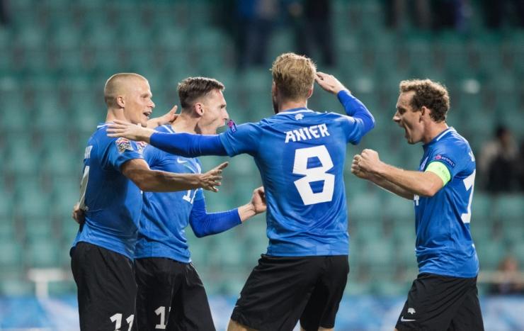 Heategevusprojekt viib 1000 last Eesti jalgpallikoondist toetama