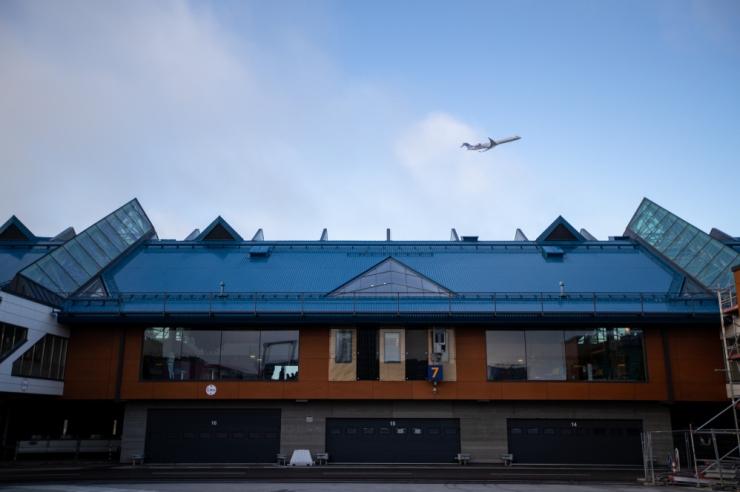 Kiievist saabunud lennuk tegi Tallinna lennuväljal avariimaandumise