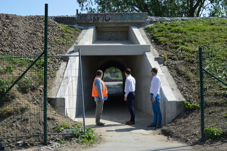 Kotka tänava veeviimar avati läbipääsuks