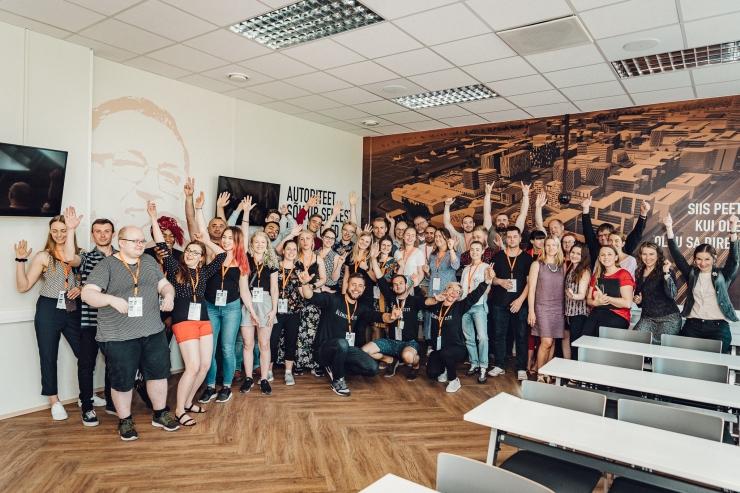 Euroopa tudengid käisid Tallinnas ettevõtteid tuunimas